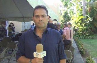 """El periodista cubano Ignacio González, del medio independiente """"En Caliente Prensa Libre""""."""